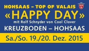 HappyDay 19. 20. Dez. Banner
